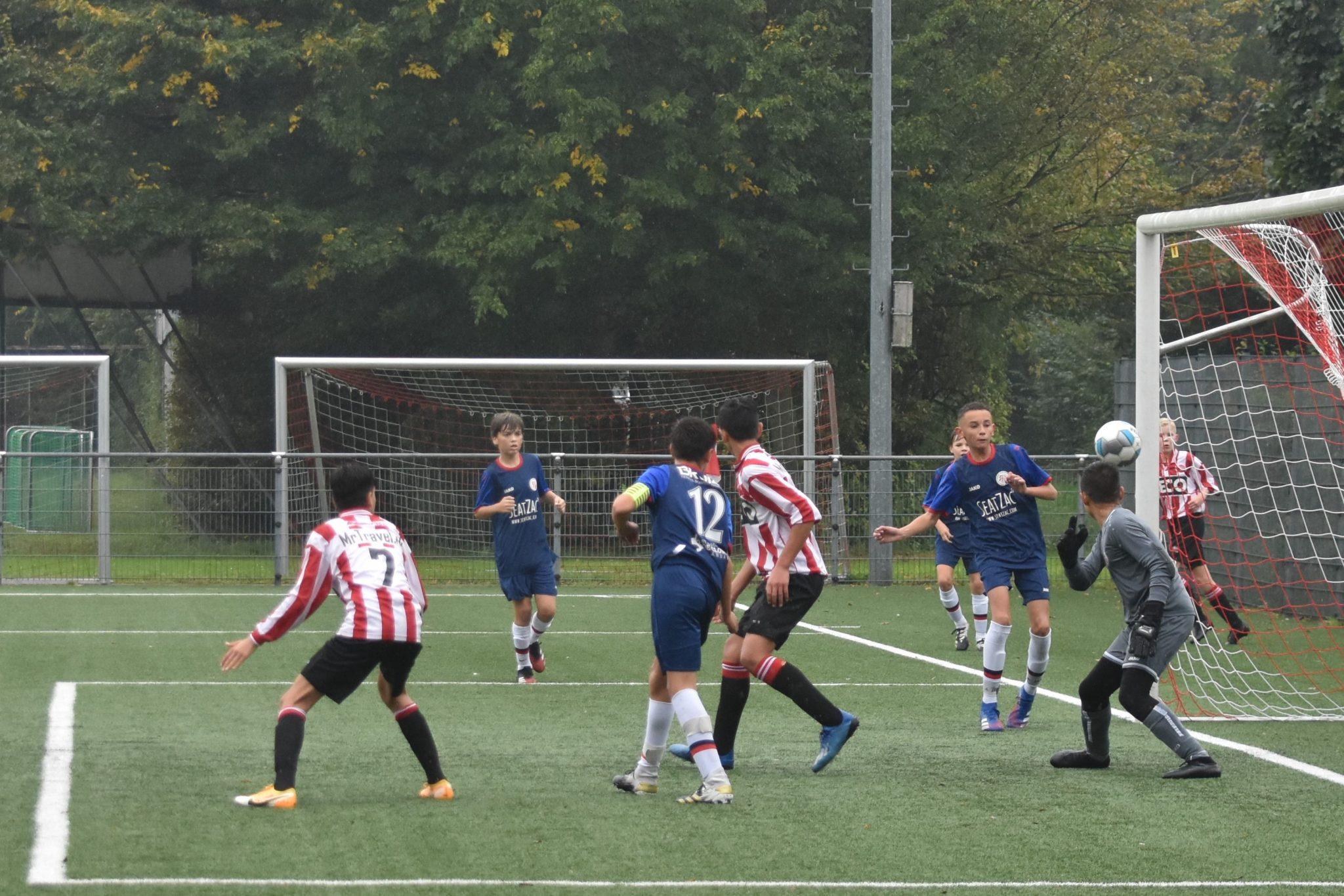 Alphense Boys JO14-1 – Fortuna Wormerveer JO14-1: Eenvoudige maar bescheiden overwinning
